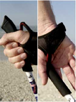Nordic Pole Walking Straps